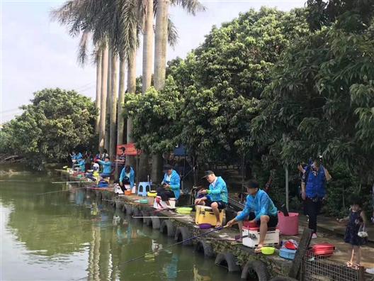 深圳农家乐-宝安乐湖生态园:休闲垂钓