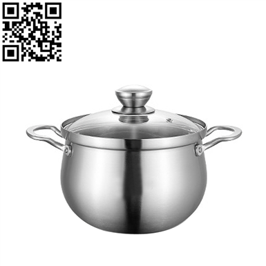 304三层钢汤锅(Stainless steel pot)ZD-TG430