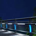 钢制灯光桥梁护栏