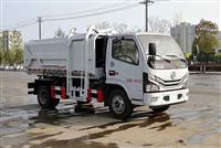 东风小多利卡国六自装卸式垃圾车挂桶垃圾车