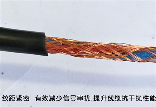 铜芯阻燃电缆RVVZ 25平方