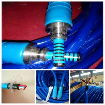 MHYBV钢丝编织屏蔽矿用通信电缆