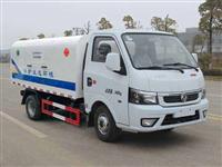 东风汽油发动机国六密封自卸式垃圾车