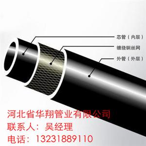 市政给排水用HDPE钢丝网骨架聚乙烯塑料复合管