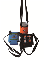 CBH013L Fold can cooler with lanyards