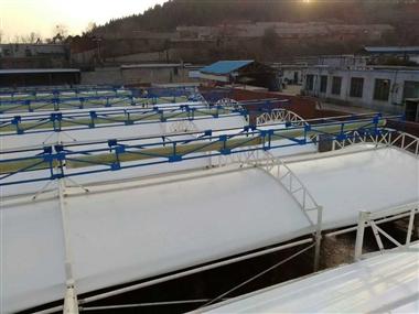膜结构污水池封闭加盖专业