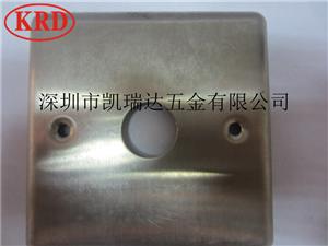 深圳五金沖壓拉伸件開模定做電子元件開關面蓋生產東莞五金廠13924605479
