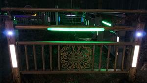 钢制河道灯光护栏