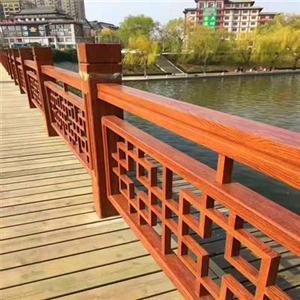 钢制仿木纹桥梁护栏