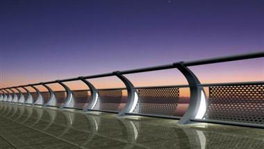 灯光景观护栏
