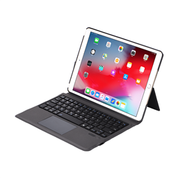 T-1092 Touchpad wirelss keyboard case for ipad 7TH GEN 10.2inch