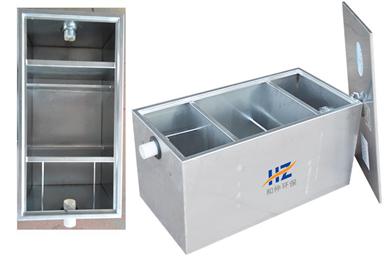 厂家直销 三级不锈钢油水分离器 餐饮隔油池环保饭店用污水处理器