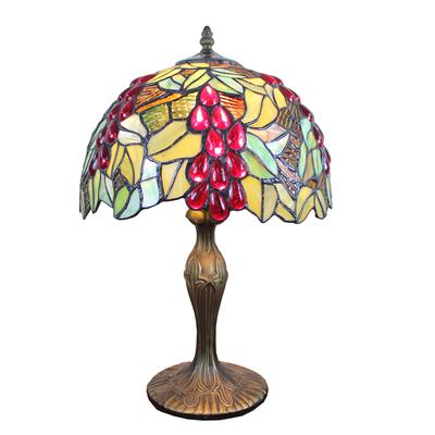 TL120203 Tiffany Table Lamp Grape Fruit Pattern Home Decoration