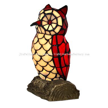 TLC00065 Animal tiffany lamp Owl bird accent lamp tiffany table light night lamp