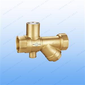 XKL604铜制过滤测温锁闭球阀