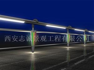 西安燈光護欄