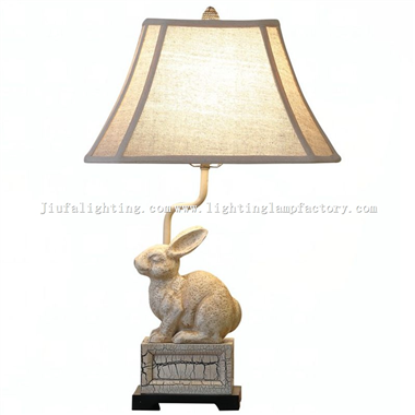 TRF140013 Rabbit table lamp bunny table light wedding table lamp