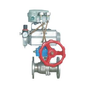 气动球阀(调节型)