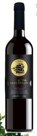 老船长西拉嘉本纳干红葡萄酒
