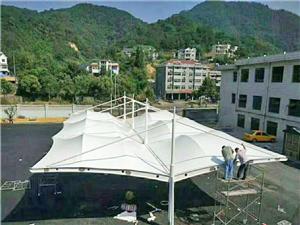 揭阳膜结构车棚_阳江膜结构车棚_梅州膜结构车棚