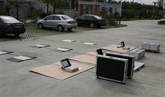 4G無線傳輸功能便攜式汽車稱重儀中路達制造