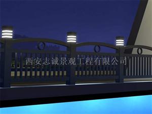 河道燈光護欄