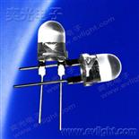 0.4W大功率黄光8mm圆头插件LED
