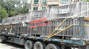 优质耐用的不锈钢护栏交通设施