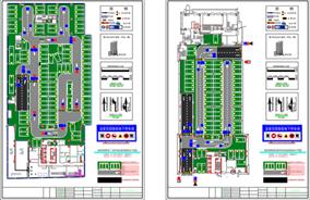 深圳停车场设计平面图CAD图纸十年老师傅绘图