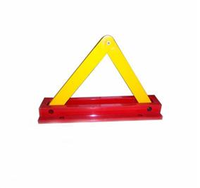 内挂三角手动车位锁