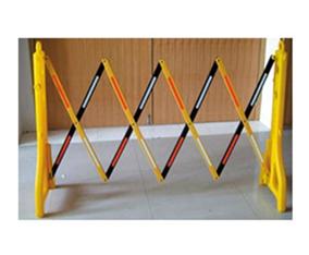 伸缩护栏,塑料伸缩围栏,施工伸缩隔离栏,中路达厂家直销