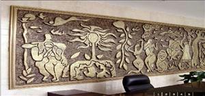 浮雕壁画首选佳木斯雕塑