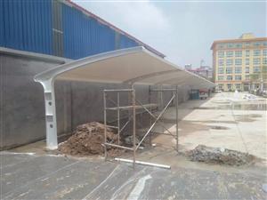 泰州宿迁膜结构车棚_源卡多膜结构厂家直销