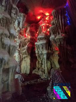 人造溶洞施工 水泥溶洞餐廳酒店制作仿真山洞施工