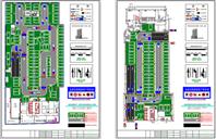 停車場設計平面圖CAD圖紙十年老師傅繪圖