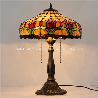 TL160037 Tiffany Style Tulip Table Lamp