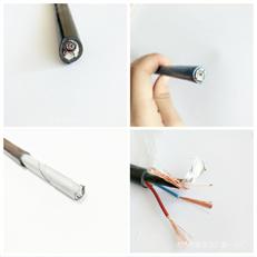 RVVP 4芯0.3-2.5屏蔽线信号电缆