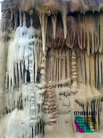 人造溶洞施工 仿真溶洞巖洞洞穴餐廳酒店制作 仿真山洞餐廳施工