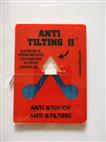 自主品牌ANTI TILTING II人字型倾倒标签45度倒置显示器
