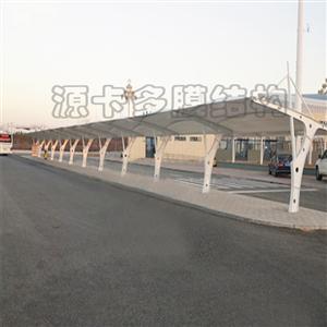 北京自行车棚_源卡多膜结构_膜结构停车棚