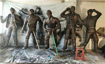 人物雕塑玻璃钢雕塑佳木斯雕塑