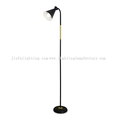 FL00008 Black floor lamp/light decorative lighting fixture
