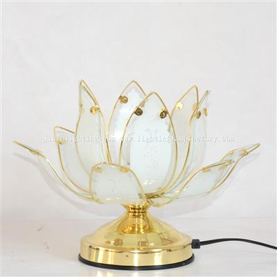 TCL0001 Lotus touch lamp glass