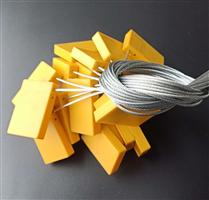 JTRFID4428 Mifare1S70扎带标签13.56MHZ钢瓶标签ISO14443A协议大容量IC电子铅封RFID电子扎带
