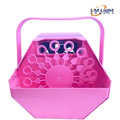 粉色小泡泡机