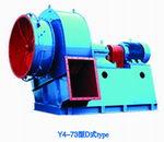Y4-73系列锅炉离心通风机