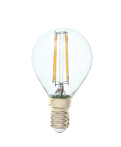 E14 G45 LED filament bulb 3w 320lm