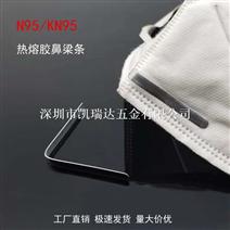 過環保N95口罩鼻梁條熱...