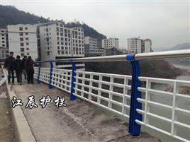 锌钢不锈钢结合桥梁护栏