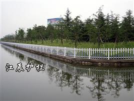 河道安全枪尖防护栏